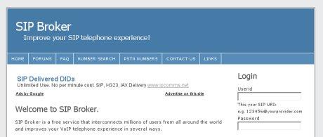 Sipbroker.com ile sip numarası bulunmayan voip adresime numara almak