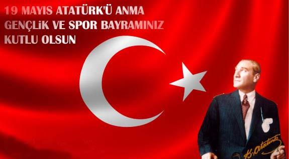 19 Mayıs Atatürk'ü Anma, Gençlik ve Spor Bayramınız kutlu olsun