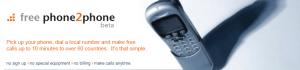 freephone2phonelogo